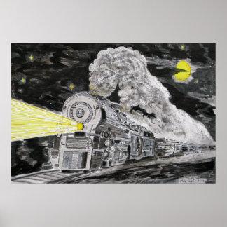 蒸気への告別 ポスター