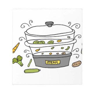 蒸気機械炊事道具 ノートパッド