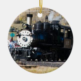 蒸気機関のオーナメント セラミックオーナメント