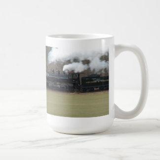 蒸気機関の速度 コーヒーマグカップ
