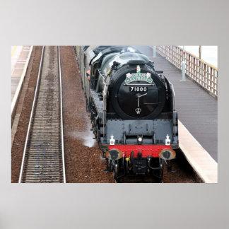 蒸気機関グロスターの公爵 ポスター