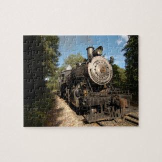 蒸気機関車の第40パズル ジグソーパズル