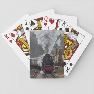 蒸気機関車 トランプ