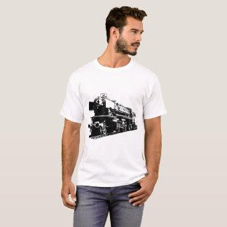 蒸気機関車-ハイコントラスト Tシャツ