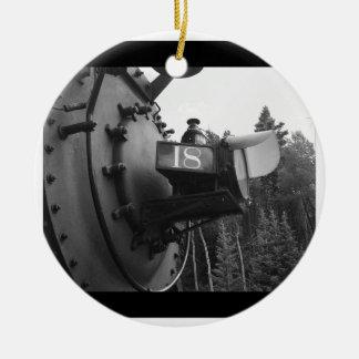 蒸気機関車#18 セラミックオーナメント