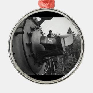 蒸気機関車#18 メタルオーナメント