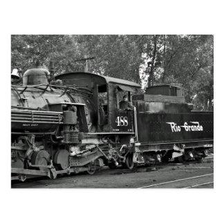 蒸気機関車Baldwin CumbresおよびToltec ポストカード