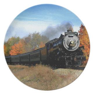 蒸気機関 プレート
