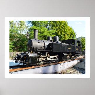 蒸気機関 ポスター