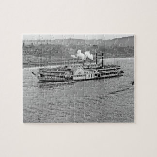 蒸気船「シンシナチ」の1906パズル ジグソーパズル