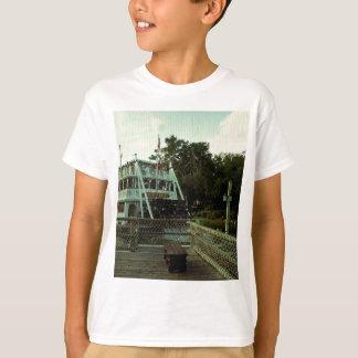 蒸気船 Tシャツ