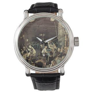 蒸気都市エールの家の時間部分 腕時計