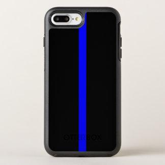 薄いブルーライン記号 オッターボックスシンメトリーiPhone 8 PLUS/7 PLUSケース