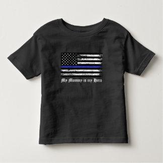 薄いブルーライン トドラーTシャツ