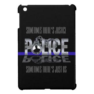 薄いブルーライン: 警察のiPad Miniケース iPad Miniケース