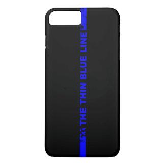 薄いブルーライン iPhone 8 PLUS/7 PLUSケース