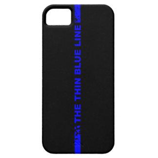 薄いブルーライン iPhone SE/5/5s ケース