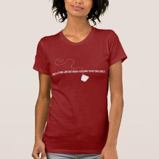 薄いライン Tシャツ