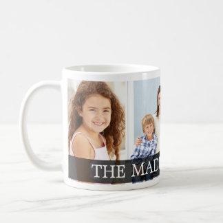 薄いラベルのカスタムな写真のマグ コーヒーマグカップ