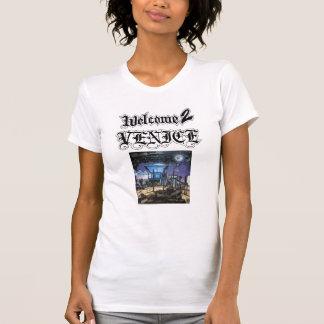 薄い歓迎2のベニス女の子 Tシャツ