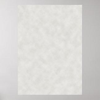 薄い灰色の羊皮紙の質 ポスター