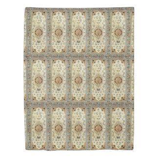 薄い色の東洋の敷物 掛け布団カバー