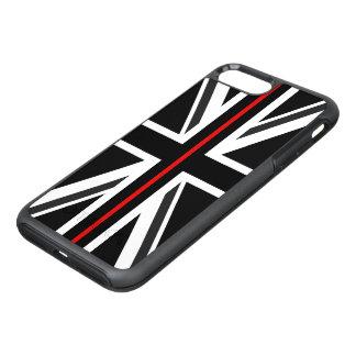 薄い赤線イギリスの旗 オッターボックスシンメトリーiPhone 8 PLUS/7 PLUSケース