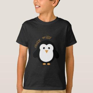 薄ら寒いウイリー Tシャツ
