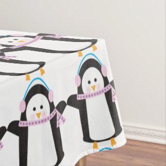 薄ら寒いペンギン テーブルクロス