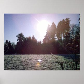 薄ら寒い1月の日 ポスター