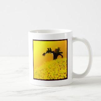 薄暗がりのかかし コーヒーマグカップ