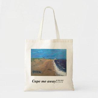 薄暗がりのケープコッドのビーチ トートバッグ