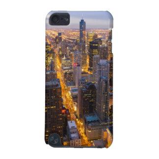 薄暗がりのシカゴの都心のスカイライン iPod TOUCH 5G ケース