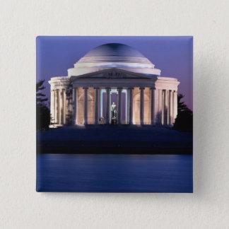 薄暗がりのトーマス・ジェファーソンの記念物 缶バッジ