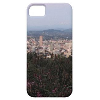 薄暗がりのポートランドスカイライン iPhone SE/5/5s ケース