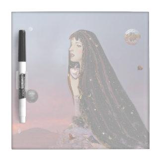薄暗がりの女神のホワイトボード ホワイトボード