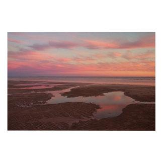 薄暗がりのCortezの海 ウッドウォールアート