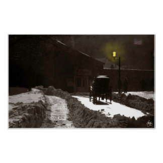薄暗がりキャリッジケベック ポスター