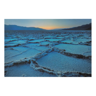 薄暗がり、デスヴァレー、カリフォルニア ウッドウォールアート