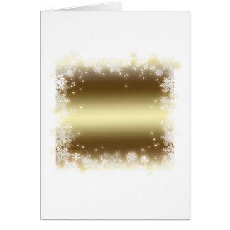 薄片、金ゴールド カード
