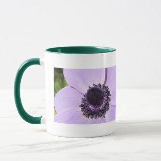 薄紫のアネモネ マグカップ