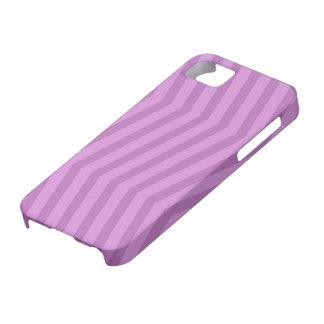 薄紫のジグザグパターンのiPhone 5カバー iPhone SE/5/5s ケース