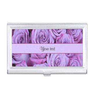 薄紫のバラ 名刺入れ