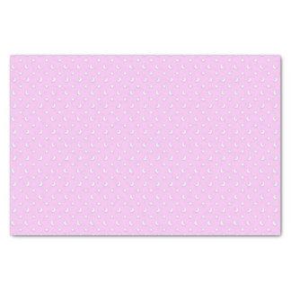 薄紫のピンクの小さい星そして月 薄葉紙