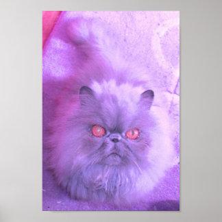 薄紫の勉強 ポスター