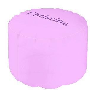 薄紫の名前をカスタムするのPouf プーフ