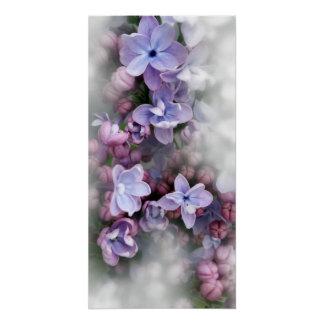 薄紫の咲くこと ポスター