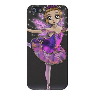 薄紫の妖精-眠れる森の美女のバレエのiPhoneの場合 iPhone 5 ケース
