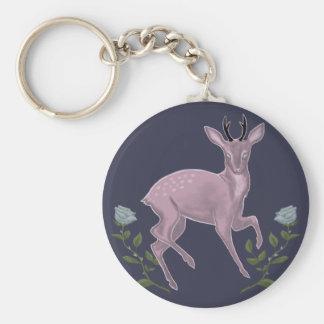 薄紫の子鹿 キーホルダー