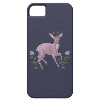 薄紫の子鹿 iPhone SE/5/5s ケース